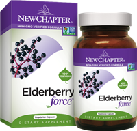 Elderberry Force: Bottle / Vegetarian Capsules: 30 Vegetarian Capsules