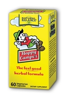 Happy Camper: Bottle / Vegetarian Capsules: 60 Vegetarian Capsules
