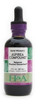 Aspirea Compound: : Dropper Bottle / Organic Alcohol Extract: 1 Fluid Ounce Only