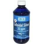 Colloidal Silver: Bottle / Liquid: 8 Fluid Ounces