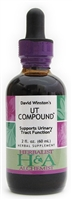 UT Compound: Dropper Bottle / Organic Alcohol Extract: 1 Fluid Ounce