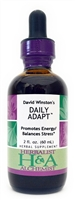 Daily Adapt: Dropper Bottle / Organic Alcohol Extract: 1 Fluid Ounce