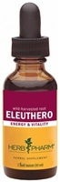 Eleuthero: Dropper Bottle / Organic Alcoholic Extract: 1 Fluid Ounce