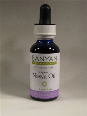 Nasya Oil: Dropper Bottle / Oil Extract: 1 Fluid Ounce