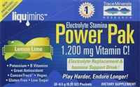 Electrolyte Stamina Power Paks, Lemon Lime: Box / Packets: 32 Packets