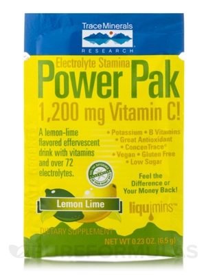 Electrolyte Stamina Power Pak, Lemon Lime: Individual Packet