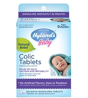 Baby Colic Tablets: Bottle / Tablets: 125 Quick-Dissolving Tablets