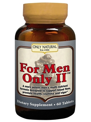 For Men Only: Bottle / Tablets: 60 Tablets