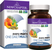 Every Man's One Daily 55+ 24s: Bottle / Tablets: 24 Vegetarian Tablets