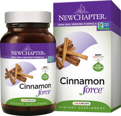 Cinnamon Force 30s: Bottle / Vegetarian Capsules: 30 Capsules