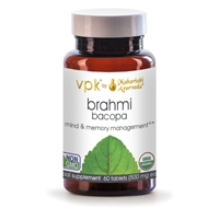 Organic Brahmi (Bacopa): Bottle: Tablets / 60 Tablets