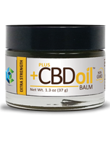 CBD Hemp Oil Balm, Extra Strength