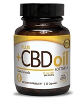 CBD Oil Capsules Gold Formula 15mg 60 softgels