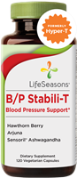 B/P Stabili-T Blood Pressure Support: Bottle / Vegetarian Capsules: 120 Capsules
