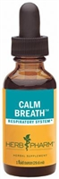Calm Breath: Dropper Bottle / Alcoholic Extract: 1 Fluid Ounce
