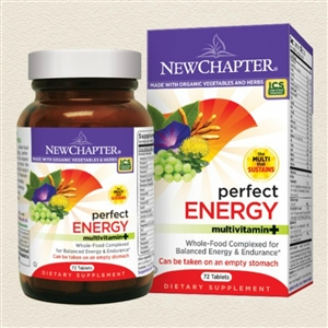 Perfect Energy 72s: Bottle / Tablets: 72 Tablets