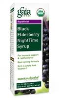 Black Elderberry NightTime Syrup: Bottle / Liquid: 3 Fluid Ounces