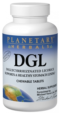 DGL Licorice: Bottle / Tablets: 100 Tablets
