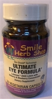 Ultimate Eye Formula: Bottle / Capsules: 30 Vegetarian Capsules