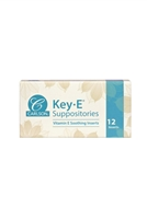 Key-E® Suppositories: Box: Suppositories / 12 Inserts