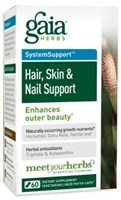 Hair, Skin & Nail Support  Enhances outer beauty*