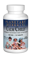 "Calm Childâ""¢ : Bottle / Tablets: 72 Tablets"
