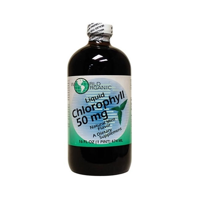 Liquid Chlorophyll, Mint: Bottle / Liquid: 16 Fluid Ounces