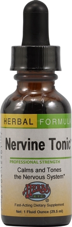 Nervine Tonic: Dropper Bottle / Alcohol Extract: 1 Fluid Ounce