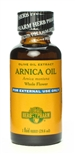 Arnica Oil: Dropper Bottle / Organic Olive Oil Extract: 1 Fluid Ounce
