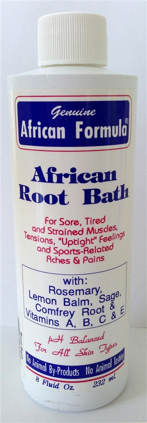 African Root Bath: Bottle: 8 Fluid Ounces