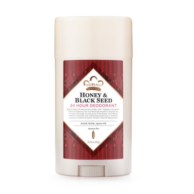 Natural Deodorant: Honey & Black Seed