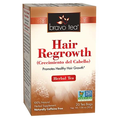 Hair Regeneration Herb Tea: Boxed Tea / Individual Tea Bags: 20 Bags