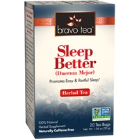 Quality Sleep Herb Tea: Boxed Tea / Individual Tea Bags: 20 Bags
