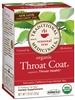 Organic Throat Coat: Boxed Tea / Individual Tea Bags: 16 Bags