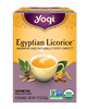 Organic Egyptian Licorice Tea: Boxed Tea / Individual Tea Bags: 16 Bags