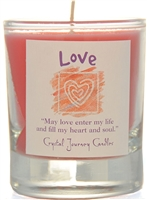 Herbal Magic Filled Votive Holders - Love
