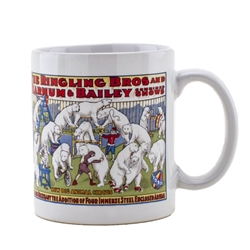 Ringling Bros. and Barnum & Bailey White Bears Mug