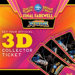 145th Circus Xtreme Collector Ticket - Final Farewell