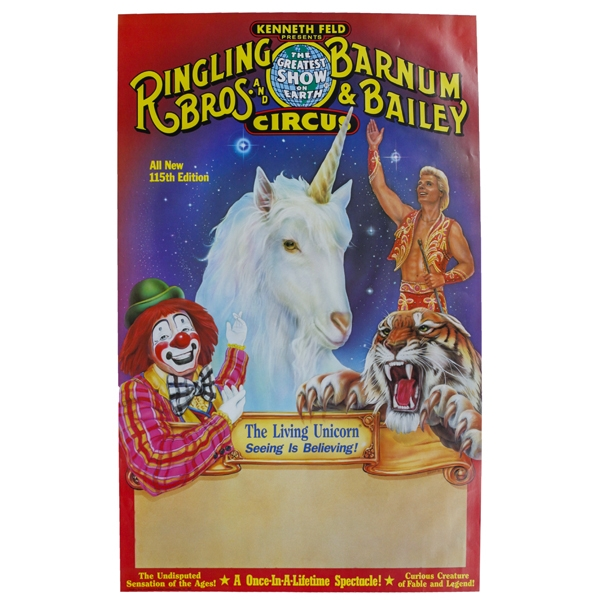 Image result for living unicorn ringling bros