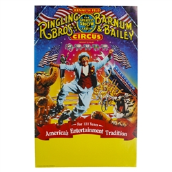 America's Entertainment Tradition Poster - 121st Circus