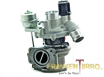 F21P Mixedflow hybrid turbocharger for Peugeot 1.6L engines