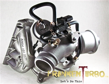 F23L MixedFlow hybrid turbocharger