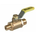 Brass Mini Valve- Male X Male