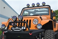 Body Armor 4x4 Front Light Bar for the 2007-2016 JK Wrangler