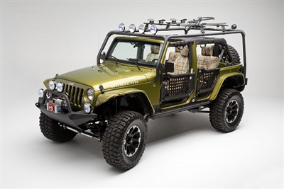 Body Armor 4x4 Cargo Rack System for the 2007-2016 Jeep JK Unlimited