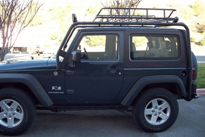 Body Armor 4x4 Cargo Rack System for the 2007-2016 Jeep JK 2-Door