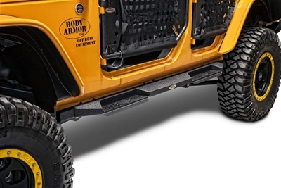 Body Armor 4x4 RockStep Side Guards 2007-2016 JK Unlimited & JK 2-Door