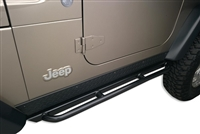 Body Armor 4x4 RockCrawler Side Bars for Jeep TJ & TJ Unlimited