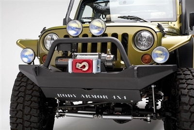 Body Armor 4x4 Front Winch Bumper for 2007-2016 Jeep Wrangler JK
