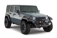 Bushwacker Pocket Style Fender Flares For Jeeps